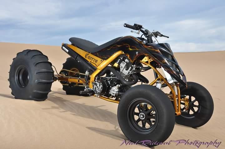Raptor 700 Under Tail Drag Duals